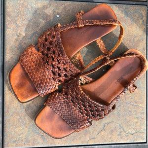 Slingback Open Toe Sesto Meucci Sandals 8